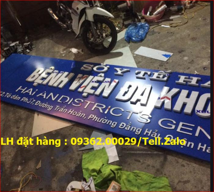 Nhận thi công lắp đặt biển quảng cáo giá rẻ  tại Hà NỘi8