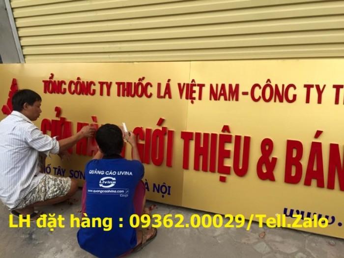 Nhận thi công lắp đặt biển quảng cáo giá rẻ  tại Hà NỘi12