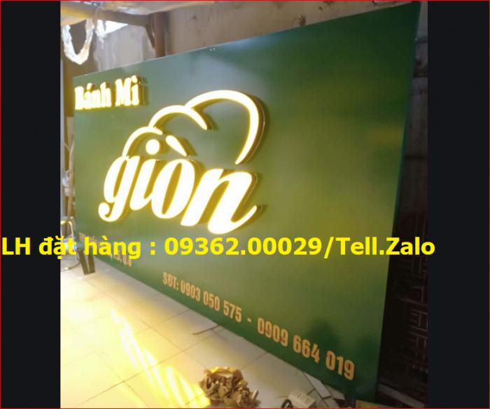 Nhận thi công lắp đặt biển quảng cáo giá rẻ  tại Hà NỘi2