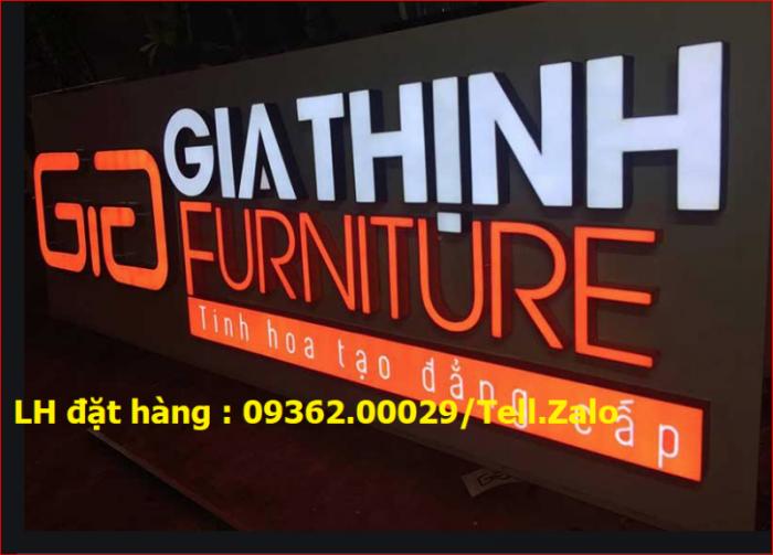 Nhận thi công lắp đặt biển quảng cáo giá rẻ  tại Hà NỘi3