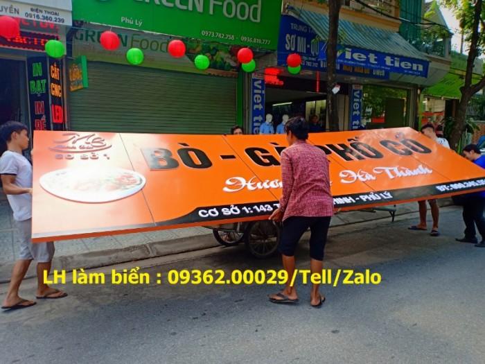 Nhận thi công lắp đặt biển quảng cáo giá rẻ  tại Hà NỘi10