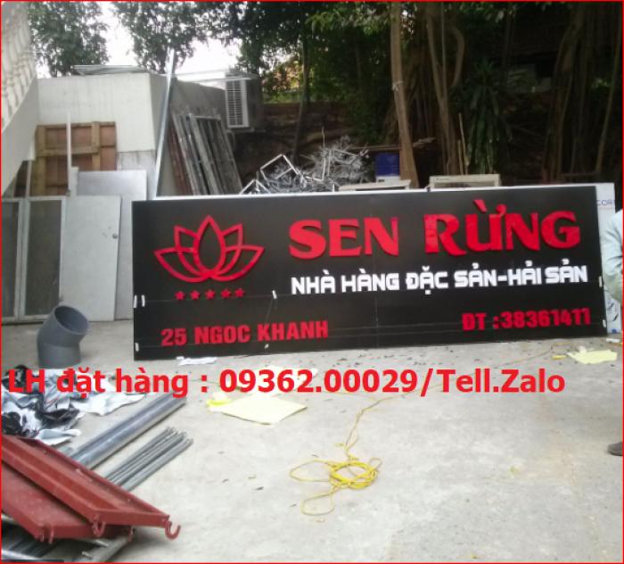 Nhận thi công lắp đặt biển quảng cáo giá rẻ  tại Hà NỘi16