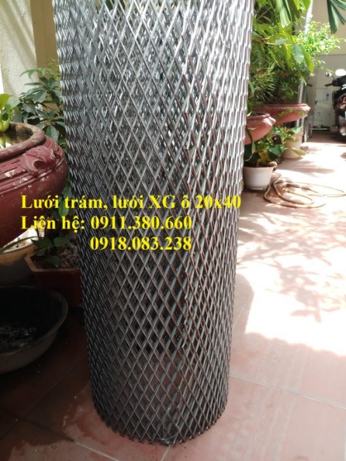 Lưới trám, lưới dập giãn 20x40. Khổ 1m, 1.2m/ cuộn2
