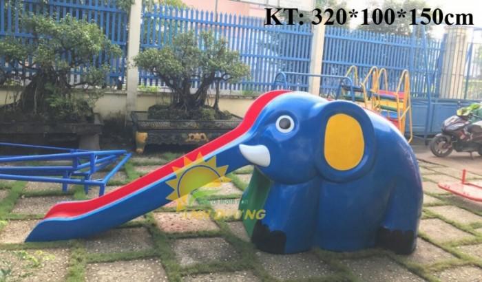 Cầu trượt liên hoàn trong nhà - ngoài trời dành cho trẻ em mầm non18