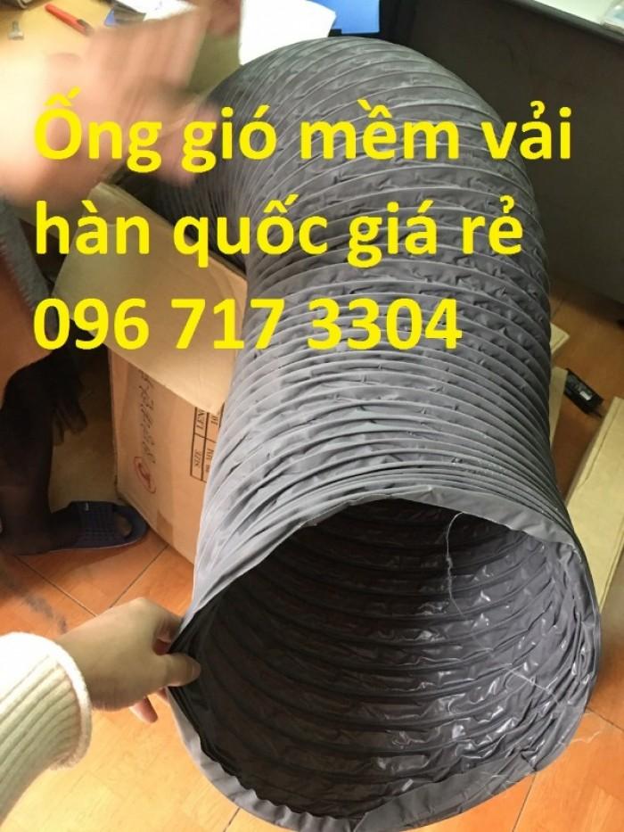 Ống gió mềm vải D100 giá rẻ4