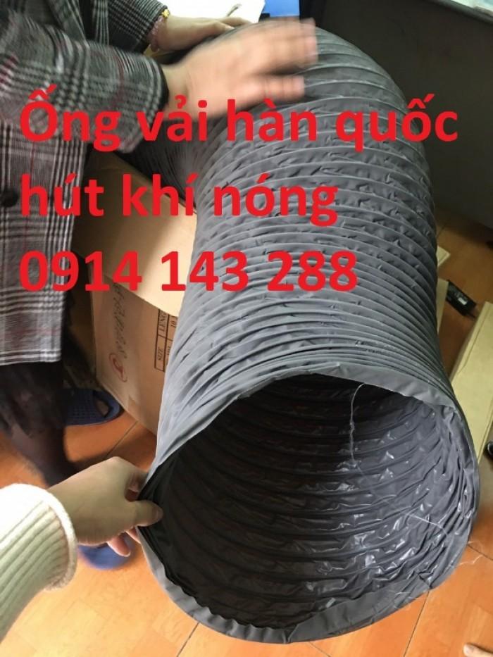 Ống gió mềm vải D100 giá rẻ3