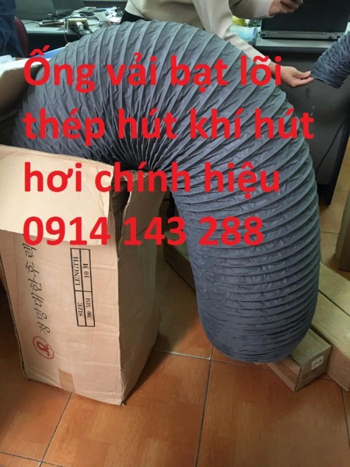 Ống gió mềm vải D100 giá rẻ2