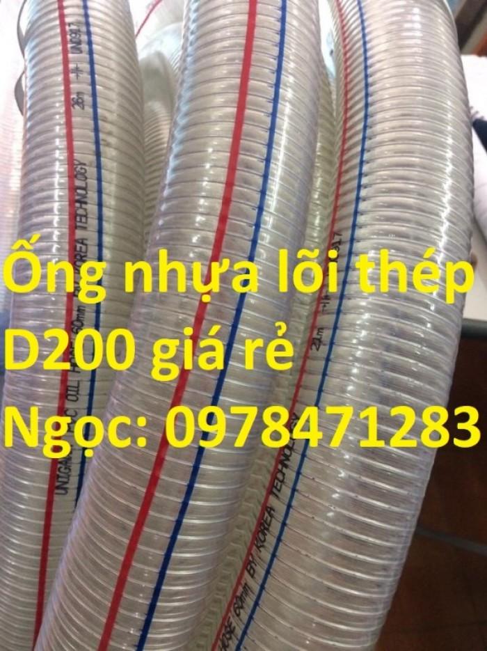 ống nhựa mềm lõi thép D50, D60, D64, D76 dẫn nước, thực phẩm7