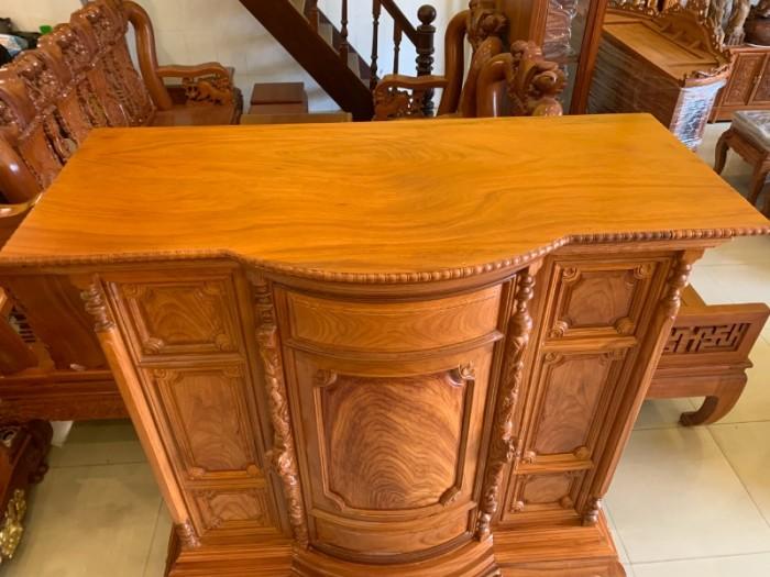 Tủ thờ gỗ gõ đỏ Lao nagng 1,53m vân cực đẹp giá cực sốc6