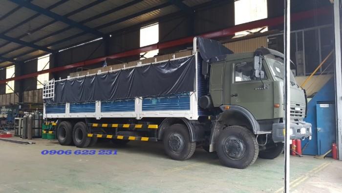 Bán Tải thùng Kamaz 4 giò tại Bình Dương | Bán xe Kamaz 6540 (17,9 tấn)