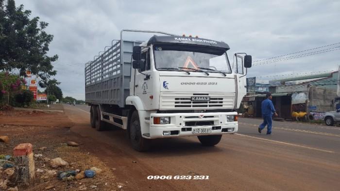 Tải thùng Kamaz 14 tấn thùng | Bán Kamaz 65117 thùng tại Bình dương