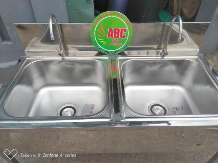 Bồn rửa tay inox  mầm non, Chậu rửa tay inox  MẦM NON giá rẻ chất lượng cao3