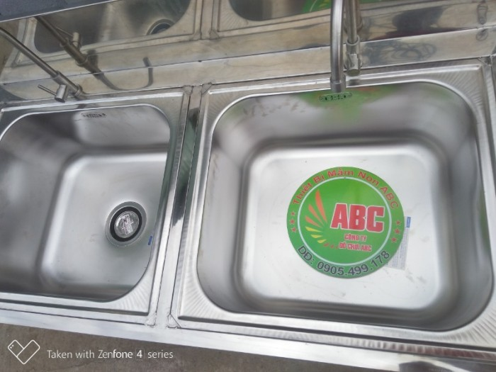 Bồn rửa tay inox  mầm non, Chậu rửa tay inox  MẦM NON giá rẻ chất lượng cao4