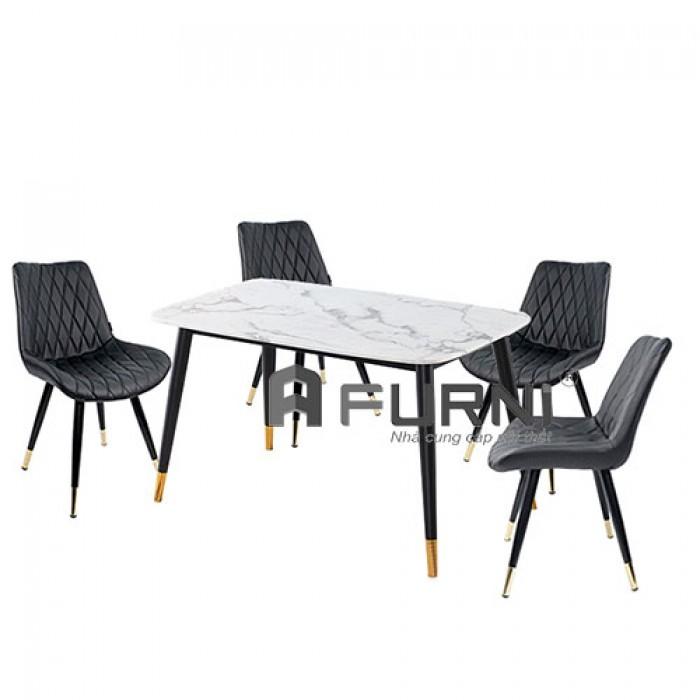 Bộ bàn ghế ăn 4 người cho căn hộ hiện đại TN Sala Lux0