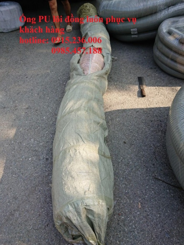 Ống PU lõi thép mạ đồng phi 350 hàng sẵn kho4