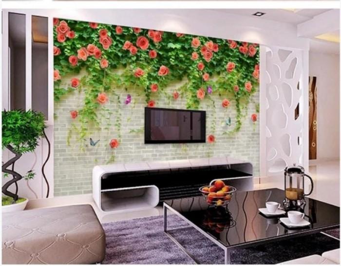 Tranh gạch phòng khách- tranh đẹp 3D3