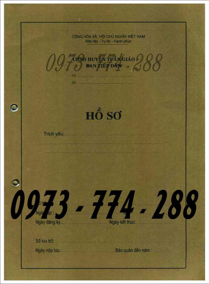 Bìa hồ sơ cán bộ, công chức, viên chức18