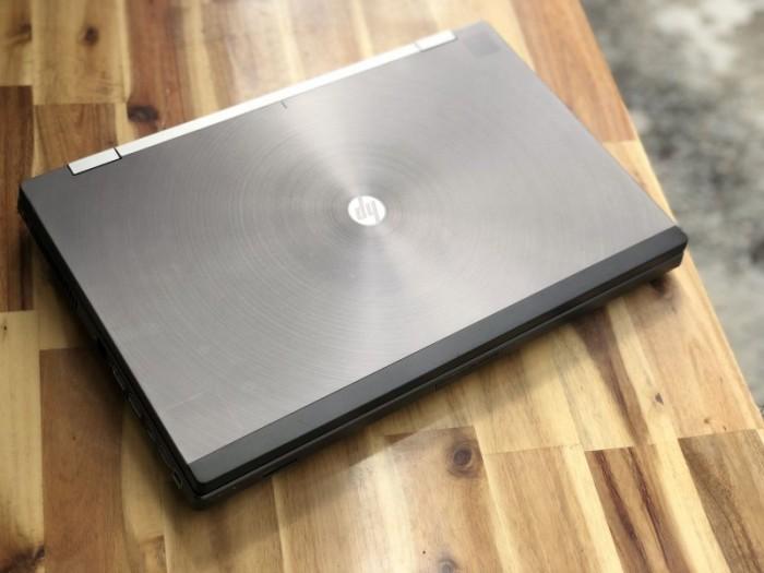 Laptop Hp Workstation 8770W, i7 3630QM 8G SSD128+500G Vga Quadro K3000M 17inc1