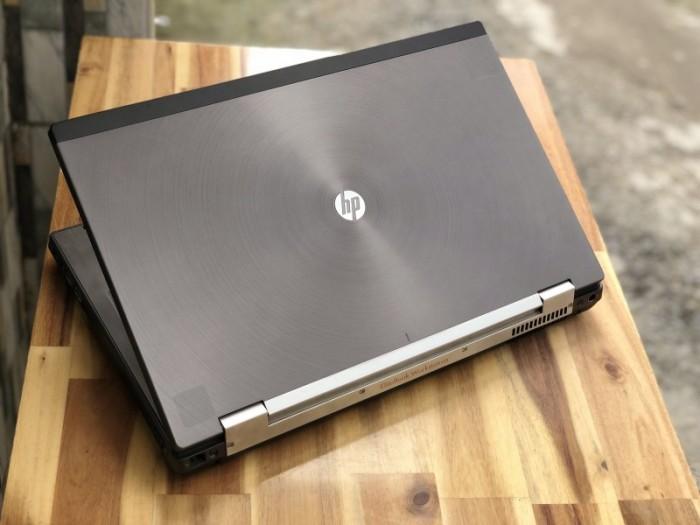 Laptop Hp Workstation 8770W, i7 3630QM 8G SSD128+500G Vga Quadro K3000M 17inc2