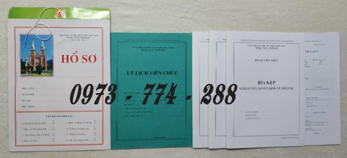 Bán hồ sơ cán bộ công chức, viên chức của bộ nội vụ  mẫu B06 bnv/2008 ban hành5