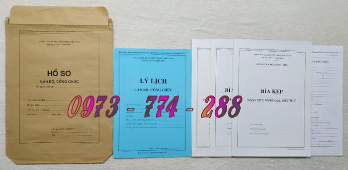 Bán hồ sơ cán bộ công chức, viên chức của bộ nội vụ  mẫu B06 bnv/2008 ban hành10