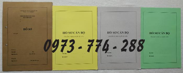 Bán hồ sơ cán bộ công chức, viên chức của bộ nội vụ  mẫu B06 bnv/2008 ban hành15