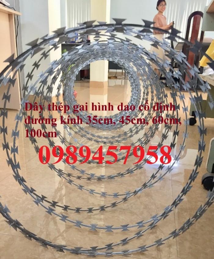 Bán dây kẽm lam đường kính 45cm, 60cm, 90cm tại Sài Gòn6