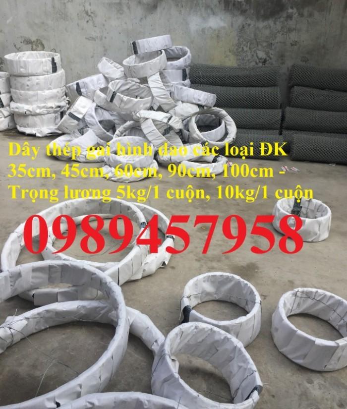 Bán dây kẽm lam đường kính 45cm, 60cm, 90cm tại Sài Gòn7