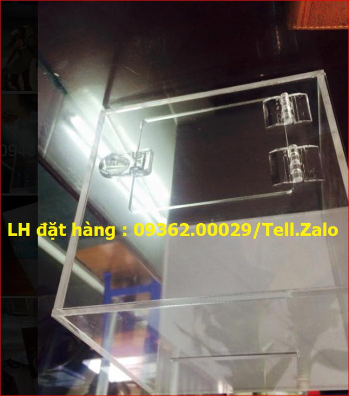 Xưởng chuyên  sản xuất hòm phiếu mica, thùng phiếu mica tại quận Thanh Xuân3