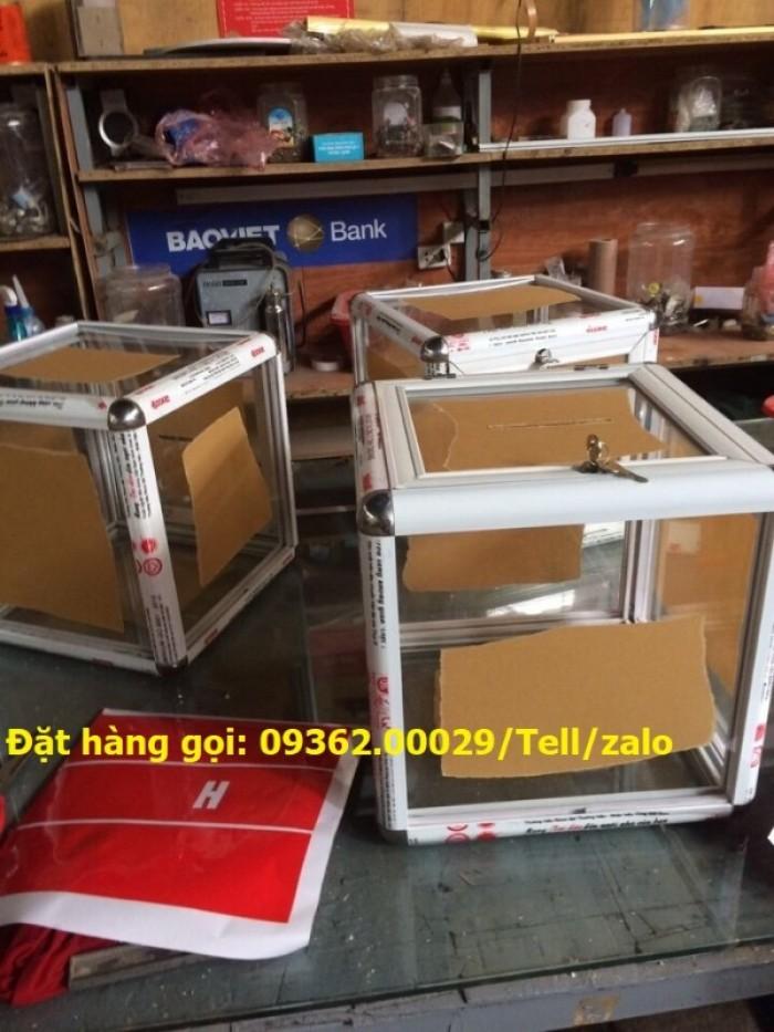 Xưởng chuyên  sản xuất hòm phiếu mica, thùng phiếu mica tại quận Thanh Xuân7