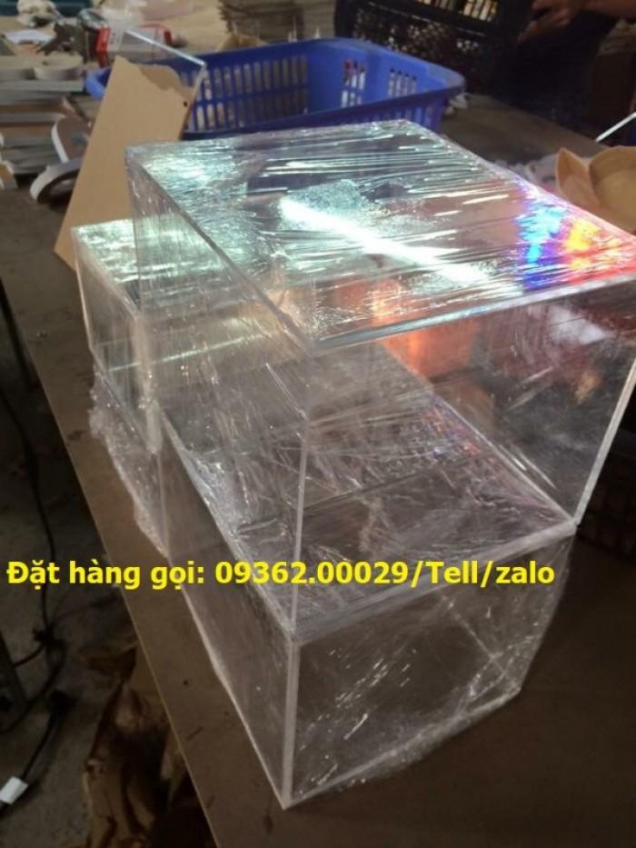 Xưởng chuyên  sản xuất hòm phiếu mica, thùng phiếu mica tại quận Thanh Xuân13