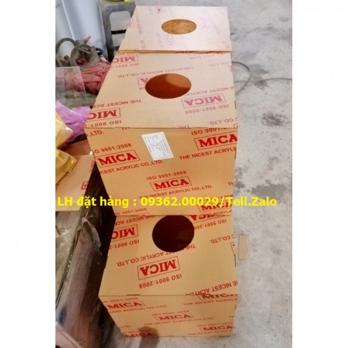 Xưởng chuyên  sản xuất hòm phiếu mica, thùng phiếu mica tại quận Thanh Xuân6