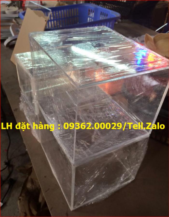 Xưởng chuyên  sản xuất hòm phiếu mica, thùng phiếu mica tại quận Thanh Xuân15