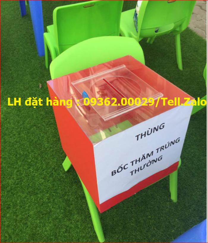 Xưởng chuyên  sản xuất hòm phiếu mica, thùng phiếu mica tại quận Thanh Xuân18