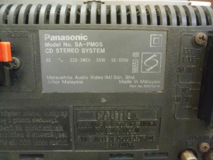 Máy nghe nhạc CD Panasonic SA-PM05 .4