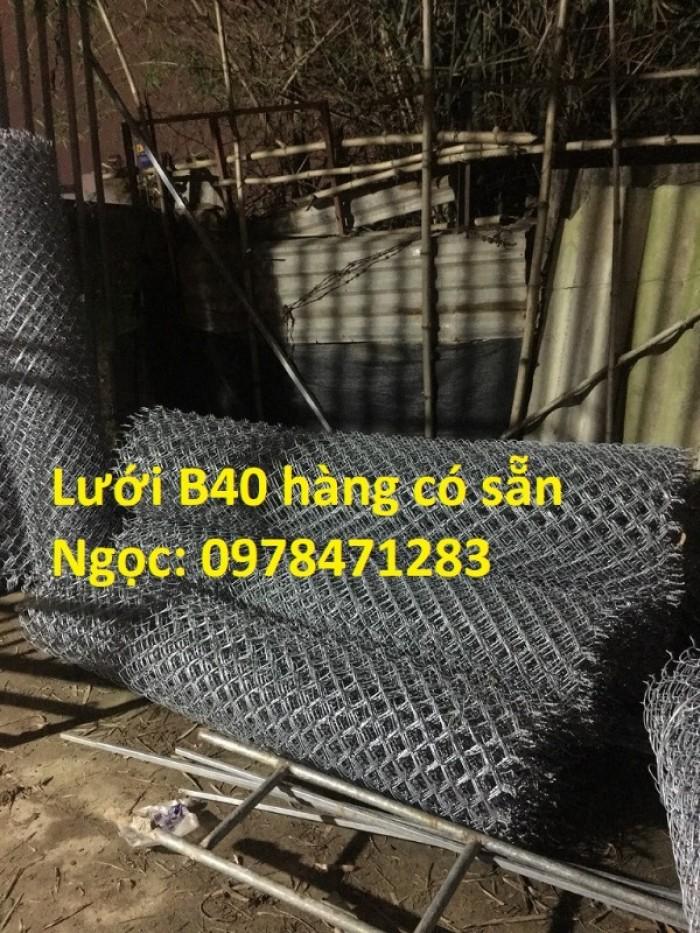 Chuyên cung cấp lưới B40 mạ kẽm dùng làm hàng rào, ngăn chuồng trại.5