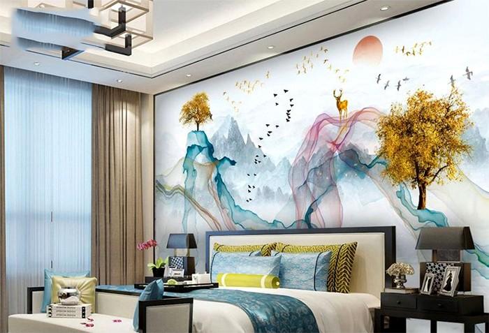 Tranh phòng ngủ- tranh gạch cao cấp2