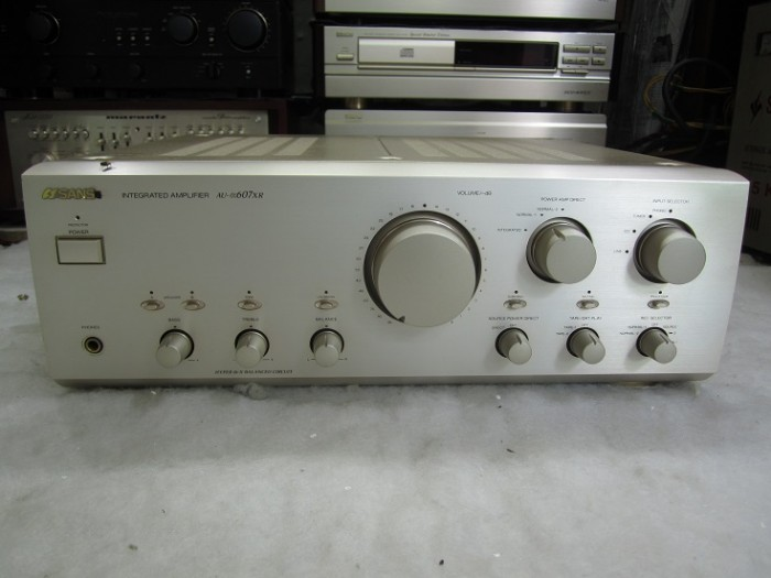 AMPLI SANSUI 607XR2
