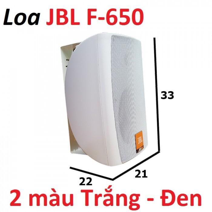 Loa treo tường JBL F-650 Đi kèm với Loa là 1 khung gắn tưởng thiết kế gắn trực tiếp trên loa, để loa tùy ý quay trái hoặc phải theo ý muốn..4