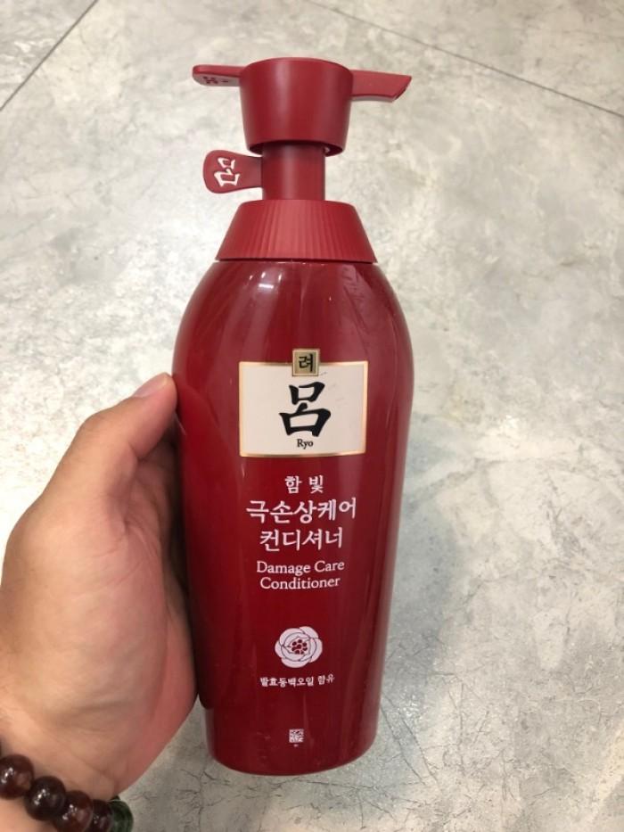 Dầu gội thảo dược Ryo dùng gội xả xách tay Hàn Quốc1