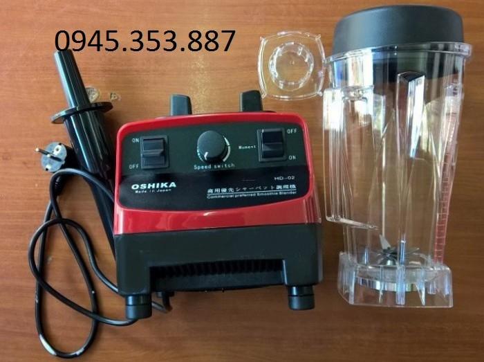 Máy xay sinh tố công nghiệp Nhật Bản Oshika HD-03cối xay 3,8lit giá rẻ0