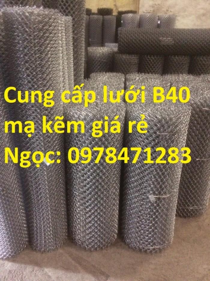 Chuyên sản xuất lưới B40, lưới hàng rào dây 2,7 ly, dây 3,4ly, dây 3,7ly.4
