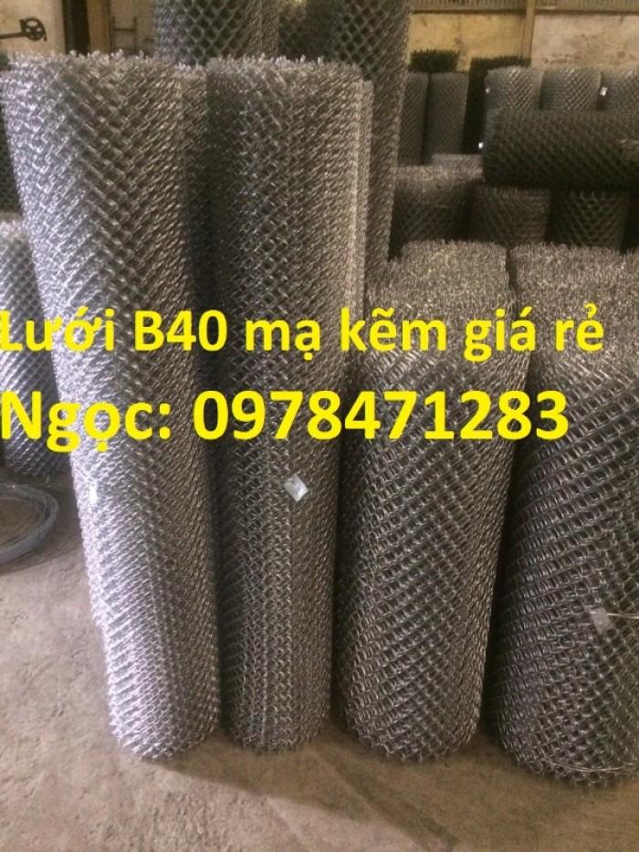 Chuyên sản xuất lưới B40, lưới hàng rào dây 2,7 ly, dây 3,4ly, dây 3,7ly.3