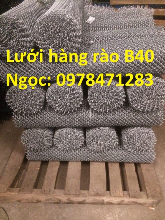 Chuyên sản xuất lưới B40, lưới hàng rào dây 2,7 ly, dây 3,4ly, dây 3,7ly.7