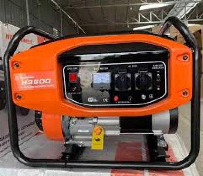 Máy phát điện Huspanda H3600 chạy xăng, giật nổ, công suất 3_3,2kw0