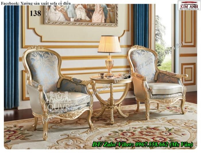 Mẫu bàn ghế phòng ngủ tân cổ điển châu âu cực đẹp giá rẻ tại xưởng