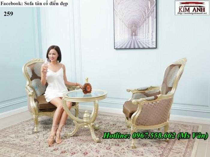 sofa thư giãn tân cổ điển phòng ngủ đẹp 6