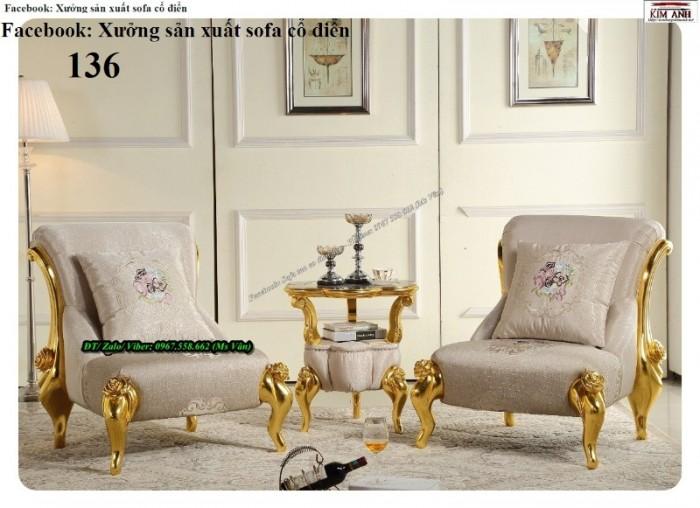 ghế sofa phòng khách phong cách châu âu 7