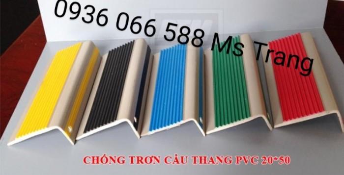 Nẹp nhựa PVC nẹp chống trơn ốp mũi bậc cầu thang, PVC nhựa2
