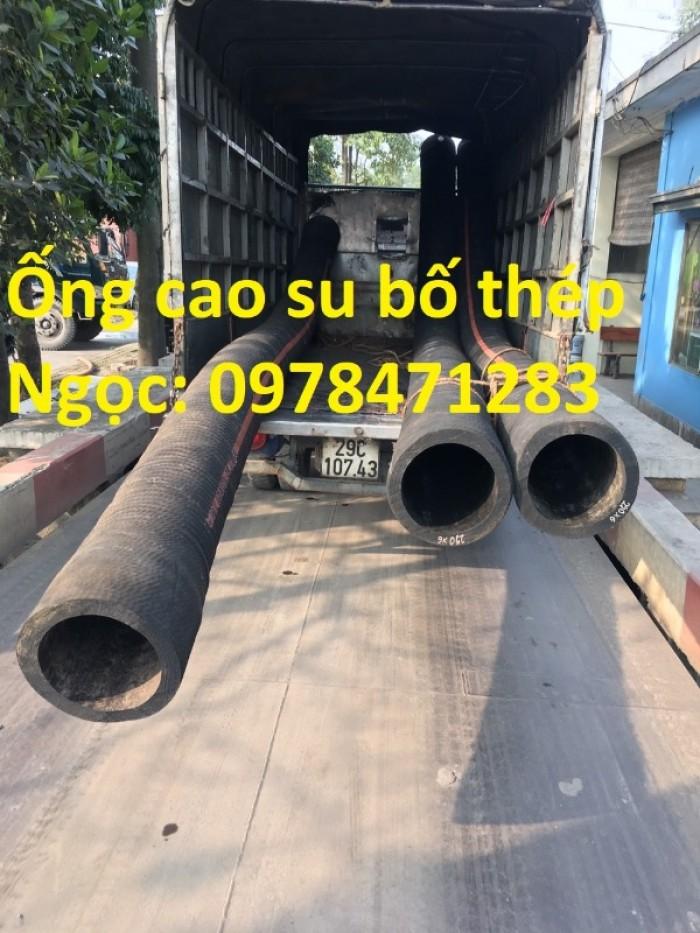 Tổng kho ống cao su lõi thép D90, 100,110,120,150,200 dùng hút cát, dẫn nước.6